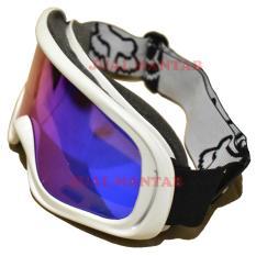 Jual Beli Jm Kacamata Goggle Racing Motorcross Putih Di Indonesia