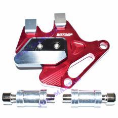 Daftar Harga Jm Pelindung Kaliper Penutup Cakram Rem Motor Vixion Nmax Dan Yamaha Rx King Merah Jm
