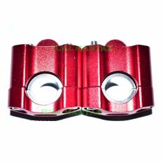 Diskon Besarjm Peninggi Stang Motor Universal Merah