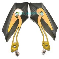Spesifikasi Jm Spion Universal Motif Bat Emas Yang Bagus