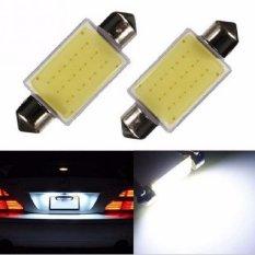 JMS - 1 pair / (2 pcs) Lampu LED Kabin / Plafon / Festoon / Double Wedge COB 12 SMD - 36mm
