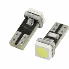 JMS - 1 Pair / (2 Pcs) Lampu LED Mobil / Motor / Speedometer / Dashboard T5 PCB 1 SMD - White