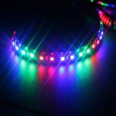 JMS - Lampu LED Daytime Running Light / DRL Mobil / Motor Strobe RGB 30 CM