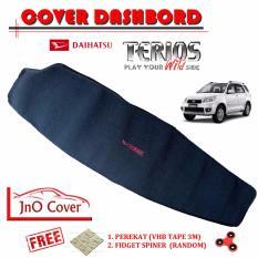 JNO Cover Dashbord Pelindung Dashbord Daihatsu Terios [Hitam] Acceseries Mobil Daihatsu Terios