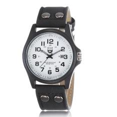 Jual Jo In Brief Layar Penunjuk Pria Tanggal Strap Quartz Sport Watch Hitam Branded Murah