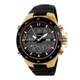 Review Toko Jo In Men Sports Military Digital Quartz Led Watches Kasual Silikon Watch Emas Online