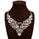Promo Toko Joy Women Swans Bertatahkan Permata Collarbone Chain