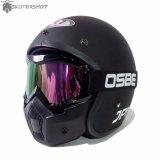 Jual Jpn Helm Arc With Osbe Goggle Mask Retro Klasik Jap Style Motocross Shark Raw Visor Rainbow Doff Hitam Online Jawa Timur