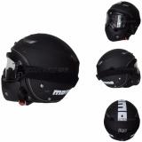 Kualitas Jpn Helm Momo Vintage With Goggle Mask Retro Klasik Jap Style Motocross Shark Raw Visor Clear Doff Hitam Jpn