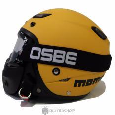 Beli Jpn Helm Momo Vintage With Osbe Goggle Mask Retro Klasik Jap Style Motocross Shark Raw Visor Clear Doff Kuning Secara Angsuran