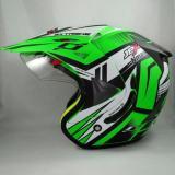 Promo Jpx Supermoto Nmax Fluorescent Green Doff Murah