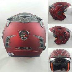 Harga Jpx Supreme Helm Solid Red Scarlet Doff Size M Paling Murah
