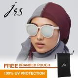 Harga Jrs Wanita Putih Sunglasses Round Uv 400 Protection Grey Lensa J20Sf1902 By Coolwinks Jrs Online