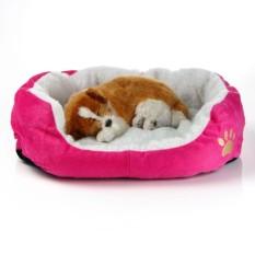 JS Intim Peliharaan Produk Baru Anjing Peliharaan Anak Kucing Lembut Bulu Hangat Tempat Tidur Kennel Plu