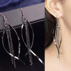 Jual Anting Korea Copper Chain Long Earrings