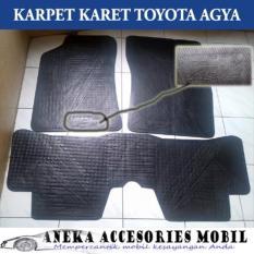 Jual Karpet Karet Khusus Toyota Agya Siap Kirim