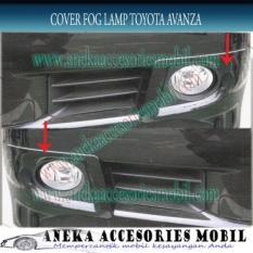 Jual Ring Fog Lamp  Cover Fog Lamp Mobil Toyota Avanza Vvti
