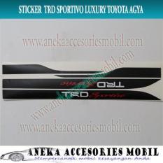 Jual Sticker Tulisan Trd Sportivo Luxury Toyota Agya Ready