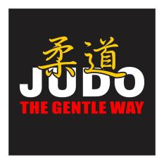 Judo The Gentle Way Cutting Sticker