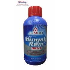 Jumbo DOT 3 Brake Fluid - Minyak Rem Neutral Merah 300 ml