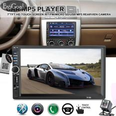 Ulasan Lengkap Tentang Jvgood 7 Double Din Touchscreen In Dash Bluetooth Car Stereo Mp3 Audio 1080P Video Player Fm Radio Tf Usb Aux In Rear View Camera Remote Control No Cd Dvd Gps