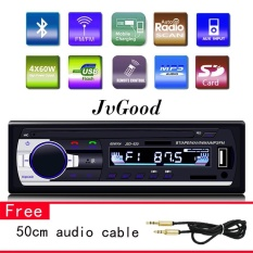 Beli Jvgood Stereo Dashboard Mobil Audio Single Din 12V Fm Mp3 Radio Dengan Remote Control 60W X4 Jvgood Online