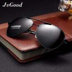 Jvgood Mens Womens Sunglasses Polarized With Aksesoris-Uv 400 Perlindungan Bingkai Logam Besar Untuk Outdoor By Jvgood.