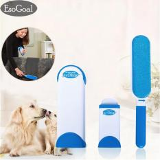 Beli Jvgood Pet Fur Lint Remover With Self Cleaning Base Double Sided Brush Removes Dog Cat Hair From Clothes Furniture Cicilan