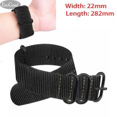 Spesifikasi Jvgood Premium Nylon Watch Bands Canvas Watchband Straps Width 22Mm Length 282Mm Beserta Harganya