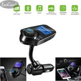 Jvgood Wireless In Car Bluetooth Fm Transmitter Radio Adapter Car Kit With 1 44 Inch Display Jvgood Diskon 40