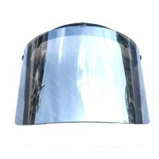 Kaca Helm Retro Bogo Flat Datar Silver Lens
