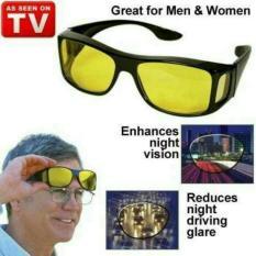Jual Kaca Mata Hd Vision 1 Box Isi 2 Anti Silau Kacamata Siang Dan Malam Online Dki Jakarta