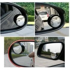 Kaca Spion Mini Cembung / Spion Wide Angle / Blind Spot Mirror - 1pcs