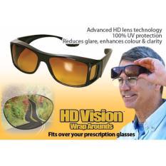 Kacamata Anti Silau Berkendara Siang Malam HD Vision