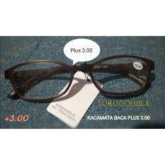 Kacamata Baca Plus 3.00 Kacamata Lensa Plus 3.00 Harga Murah