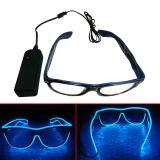 Harga Kacamata Dj Glow Led Blue Lengkap