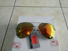 Harga Kacamata Fashion Kacamata Aviator Kaca Terang Gold Trendy Gaya Keren Multi Original