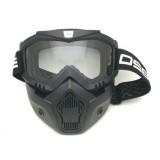 Jual Kacamata Goggle Osbe Alien Mask Modular Clear Google Alien Shark Masker Topeng Bening Branded Original