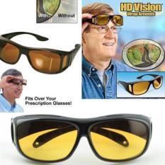 Kacamata Hitam Kuning Kaca Mata Night Dan HD Vision Kacamata Anti Silau Sinar Matahari Ultraviolet Frame Lensa Sunglasses Sun Glasses Sunglass Spy