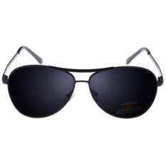 Kacamata Hitam Polarized Sunglasses Untuk Pria & Wanita - Black/Gray.