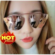 Kacamata hitam wanita import murah obral Sunglass artis UV400 /aviator kacamata wings korea kc 39 pink / alkasih