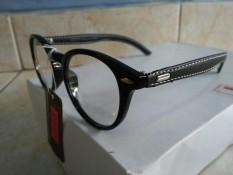 Kacamata Korea Murah Fashion Oval Gagang Unik Trendy Gaya Keren