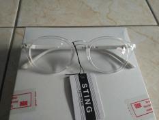 Kacamata minus 3.00 kacamata baca kaca bening trendy gaya korea by311