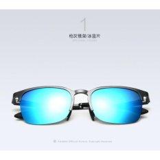 Ulasan Lengkap Kacamata Pria Hitam Alumunium Polarized 6631 Uv 400 Gratis Pouch