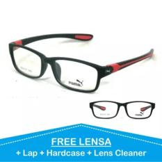 Kacamata Sporty Lensa Minus Plus Anti Radiasi Frame Baca Pria Cowo Wanita Cewe