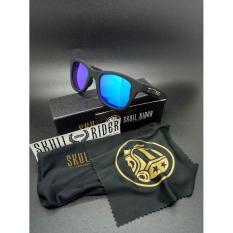 Kacamata Skull Rider 99 Jorge Lorenzo Polarized Pria Sunglass Biru - Xs0ch7