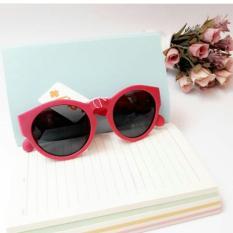 Kacamata Sky+ Sunglasses Round Fashion - Random Colour