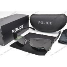 Kacamata Sunglass Police 1214 Hitam - 7Yjj8t