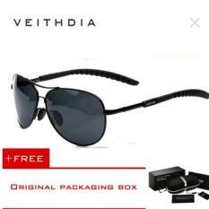 Kacamata Sunglasses Aviator Polarized Original