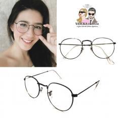 Harga Kacamata Vasckashop Alice Eyeglasses Black Yang Murah Dan Bagus